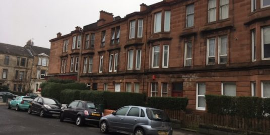 3 Percy Street, Flat 2-2, Glasgow, G51 1NZ – Available 03-02-2020