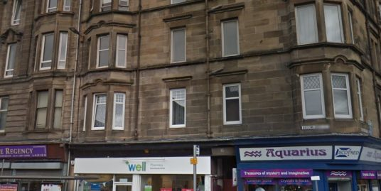 11 Broomlands Street Flat 2-1 Paisley PA1 2LS – Available 01-11-2018