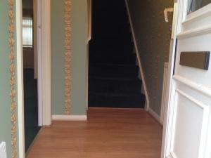 Hallway Front door 2nd sept 14