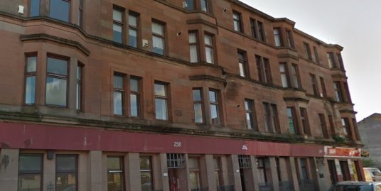 258 Stevenson Street Flat 3-2 Glasgow G40 2RU – Available Now